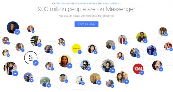 Facebook-Chatbots im Test: So schlagen sich CNN, Poncho und Spring. (Screenshot: t3n.de)