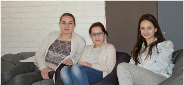 Coder-Nachwuchs: Die Schwestern Elene, Ani und Mari Machaidze haben gemeinsam den dritten Platz beim HackerRank Women's Cup erreicht. (Foto: HackerRank)