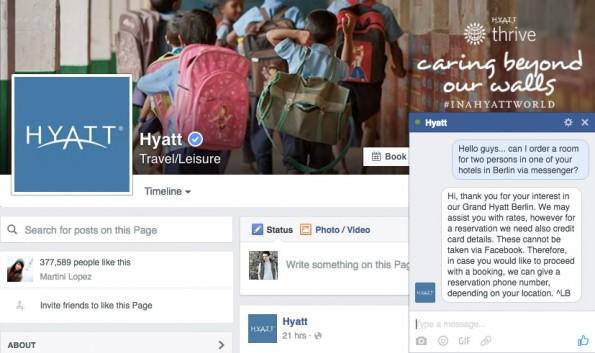 Kundenanfragen über den Facebook-Messenger abwickeln. (Screenshot: t3n.de)