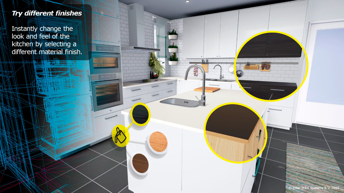 Küche einrichten mit vr brille: ikea traut sich in die virtuelle ...