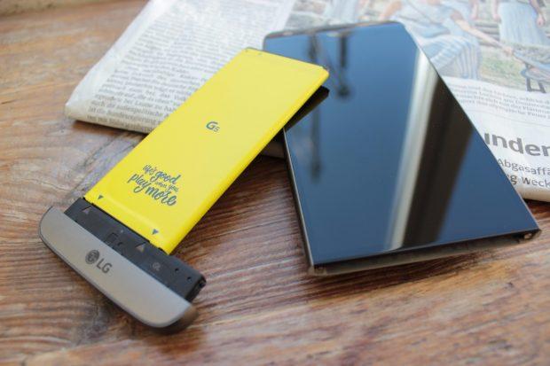 LG G5 im Test. (Foto: t3n)
