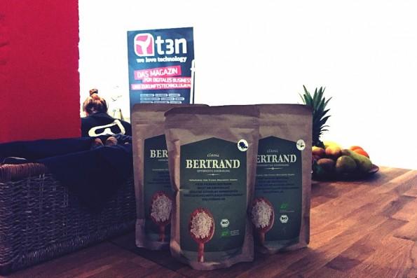 Bio und aus Deutschland: Bertrand ist einer der Nahrungspulver-Shakes, die viel versprechen. (Foto: t3n)