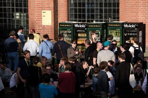 Die Atmosphäre auf der re:publica ist entspannt und fröhlich. (Foto: re:publica 2015 / flickr.com, Lizenz: CC-BY-SA)