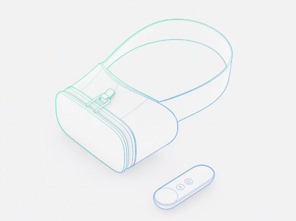 Referenz-Design: Das VR-Headset von Google Daydream. (Screenshot: Google)
