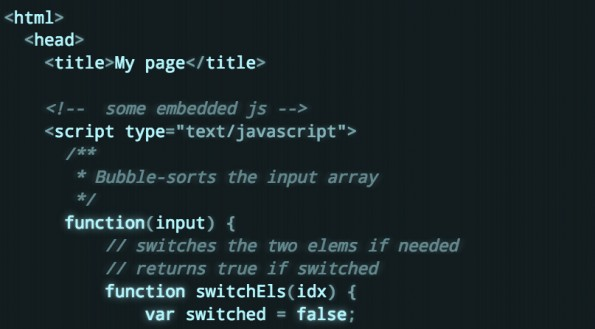 Highlighting: Microlight.js funktioniert im Grunde mit jeder Programmiersprache. (Screenshot: asvd.github.io/microlight)