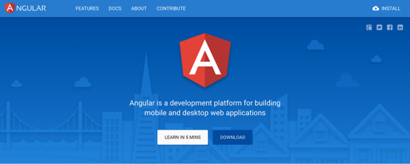 Screenshot: Angular