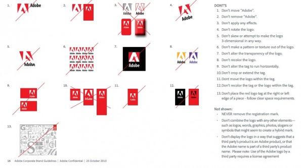 Adobe Styleguide