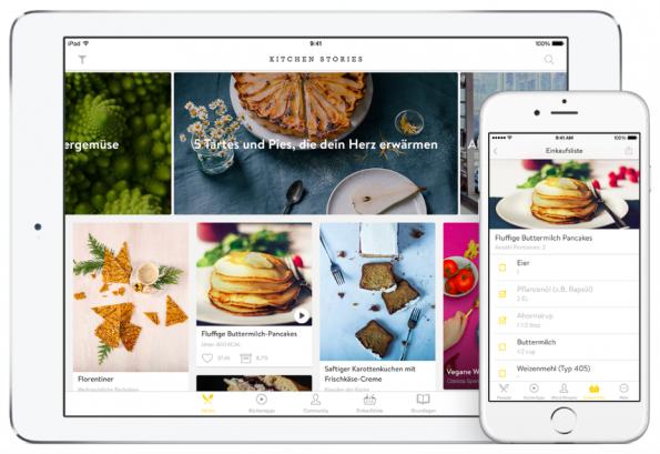 Kitchen Stories wurde 2015 von Apple zu einer der besten Apps des Jahres gewählt. (Screenshot: Kitchen Stories)