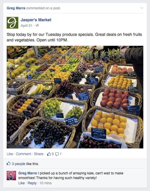 Wenn Beiträge eurer Facebook-Page aktiv geteilt werden und Likes und Kommentare erhalten, sollte das Update wenig Einfluss auf die Reichweite haben. (Bild: Facebook)