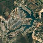 Brasília in Brasilien. (Bild: Google)