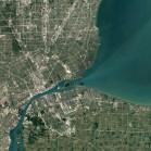 Detroit in Michigan, USA.  (Bild: Google)