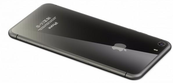 Nur ein Design-Konzept: Könnte das iPhone 8 so aussehen? (Bild: Martin Hajek; nowhereelse.fr)