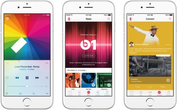 Apple Music soll mit dem Update auf iOS 10 ein neues Design erhalten. (Bild: Apple)