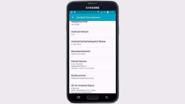 Endlich ist auch das freie Galaxy S5 an der Reihe. (Bild: AllAboutSamsung)