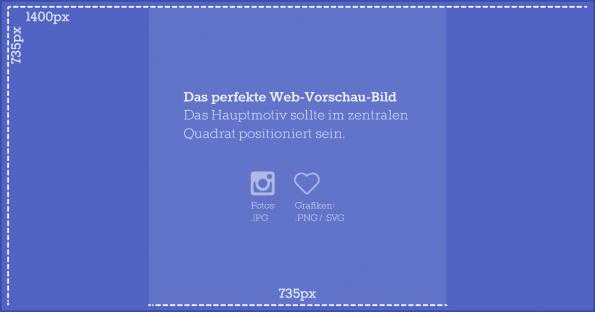 Blueprint für das perfekte Web-Vorschau-Bild. (Grafik: Severin Lucks)