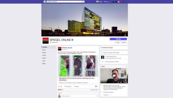Facebook Redesign: Kleines Profilbild, großer Header. (Screenshot: t3n.de)