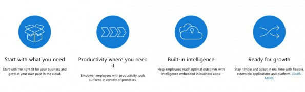 Neuer Cloud-Service von Microsoft: Das soll Dynamics 365 können. (Screenshot: Microsoft)
