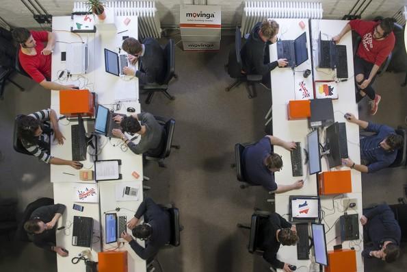Die Büroräume von Movinga. (Foto: Movinga)
