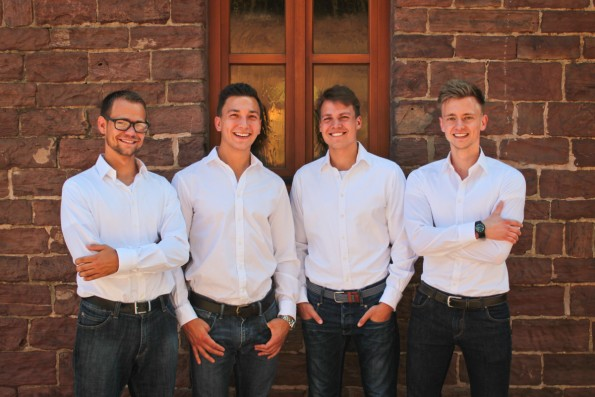 Die Männer hinter Store2be (von links nach rechts): Peter Gundel, Marlon Braumann, Emil Kabisch und Sven Wissebach. (Foto: Store2be)