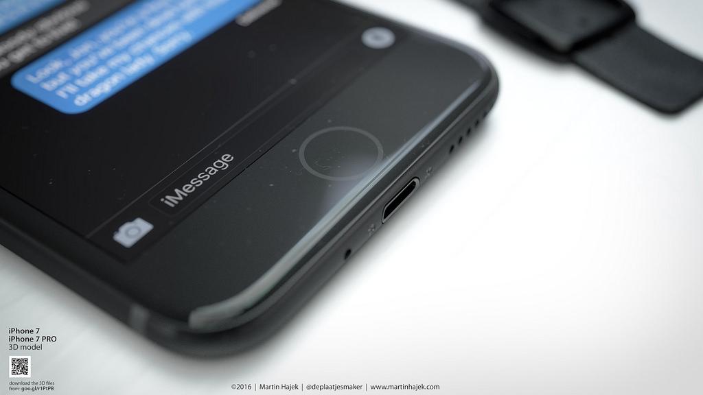 Black and beautiful: So schick könnte das iPhone 7 in Schwarz aussehen