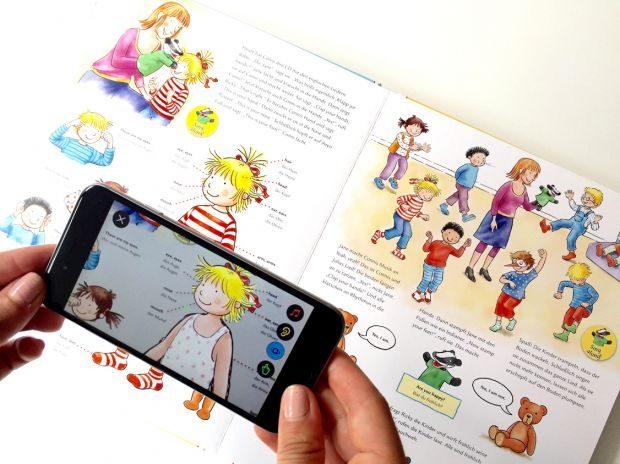 Carlsen setzt bei seiner Buchserie Leyo Augmented Reality ein (Foto: Leyo)