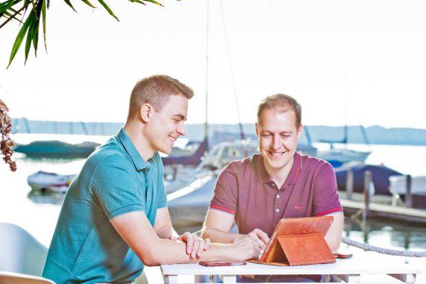 Kai Klement und Jörg Kundrath. (Foto: Kavaj)