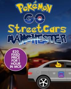 Pokémon Go: Taxi-Firma lockt Spieler mit Flatrate. (Bild: Street Cars/Facebook)