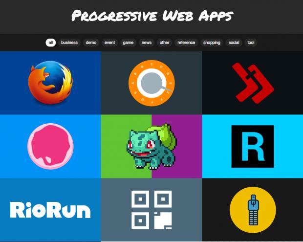 Progressive Web Apps: Zusammenstellung unter PWA Rocks