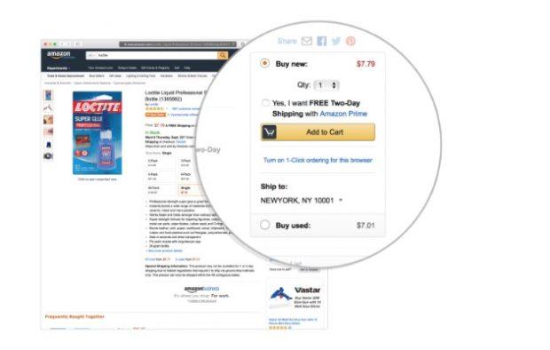 Amazon: Nicht immer die günstigsten Preise in der prominenten Buy-Box. (Bild: Pro Publica)