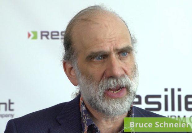 Bruce Schneier warnt vor Angriffen auf das Internet. (Bild: Youtube/Resilient)