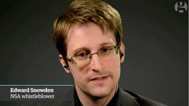 Whistleblower Edward Snowden im Guardian-Interview. (Screenshot: theguardian.com)