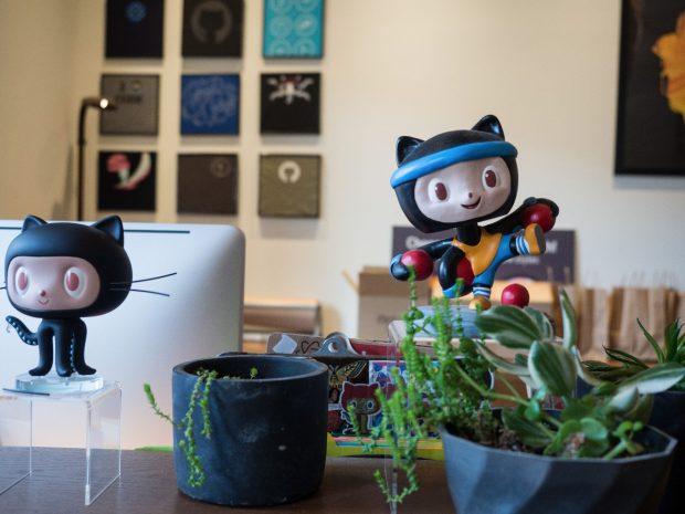 Zu Besuch in den Github-Büros. (Foto: t3n / Sébastien Bonset)
