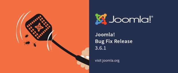 Joomla 3.6.1 behebt verschiedene Bugs. (Grafik: joomla.org)