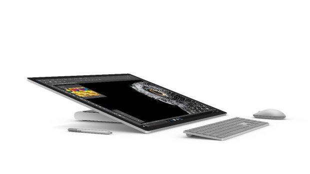 Das Surface Book Performance Base kommt nach Deutschland – über eine Verfügbarkeit des Surface Studio hat Microsoft sich noch nicht geäußert. (Foto: Microsoft)