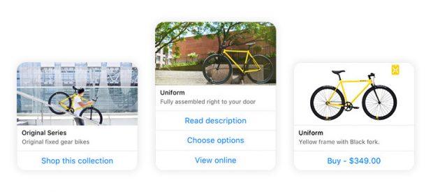 Shopify: Nutzer des Shopsystems können bald auch Produkte über den Facebook Messenger verkaufen. (Grafik: Shopify)