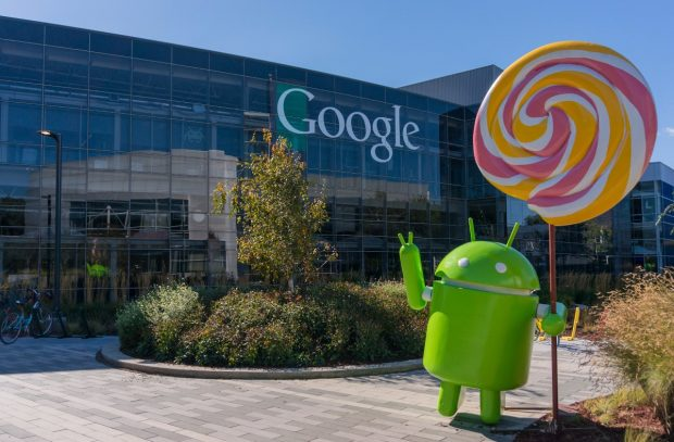 Google-Zentrale in Mountain View. (Foto: Asif Islam / Shutterstock.com)