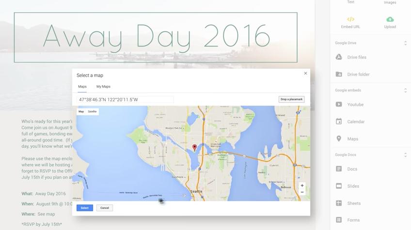 Google Sites: Webhosting-Dienst erstrahlt in neuem Glanz