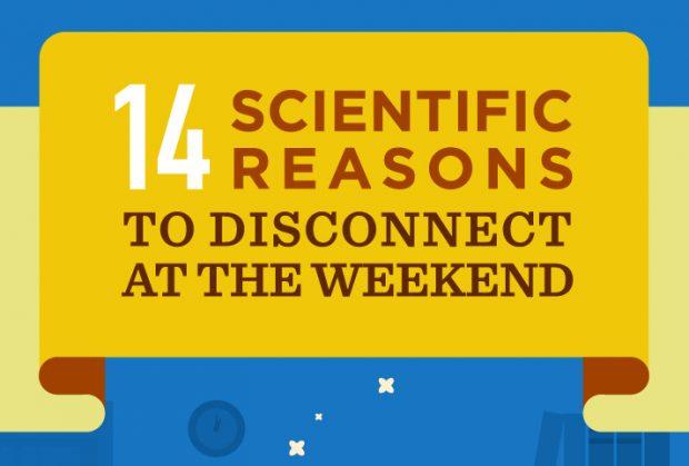 Darum ist es wichtig, am Wochenende auszuspannen. (Grafik: Netcredit)