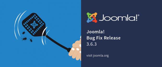 Bei Joomla 3.6.3 handelt es sich um einen Bugfix-Release. (Grafik: joomla.org)