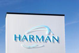 Harman-Logo. (Foto: ricochet64/Shutterstock)