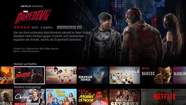 Streaming: Netflix bietet Serienfans die beste Auswahl, ist bei Filmen aber zum Vergessen. (Bild: Netflix)
