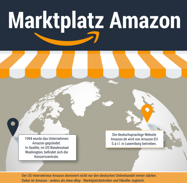 Amazon in Zahlen (Infografik: afterbuy.de)