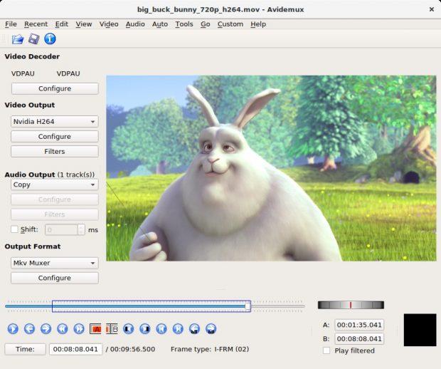 Avidemux gibt es für Windows, macOS und Linux. (Screenshot: Avidemux)