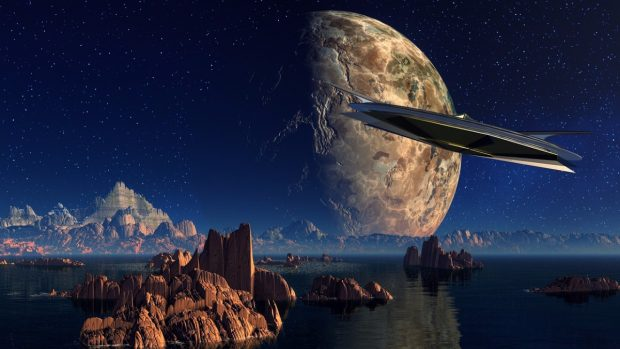 UFOs in Bilder zu montieren, ist nicht grundsätzlich gefährlich. (Foto: Pixabay.com | Lizenz: CC0, Public Domain)