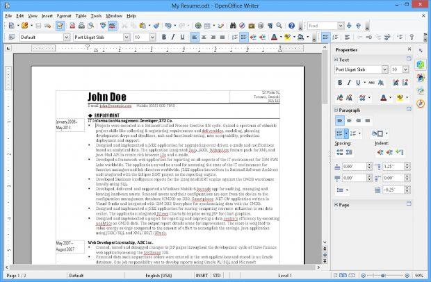 Neben OpenOffice gibt es auch noch eine ganze Reihe weiterer spannender Alternativen zum Office-Paket von Microsoft. (Screenshot: Apache OpenOffice)