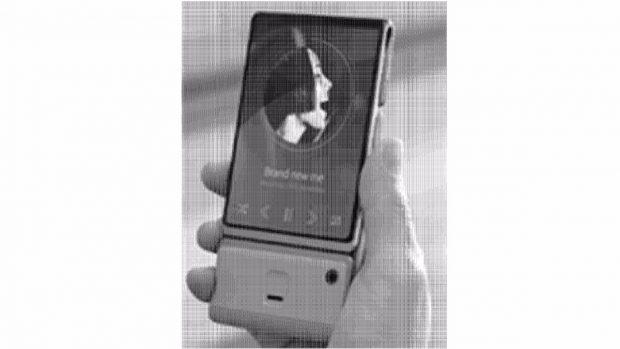 Samsung Galaxy X: Ob das Bild ein echtes Smartphone, einen Dummy oder ein Rendering zeigt, ist nicht bekannt. (Bild Kipris)