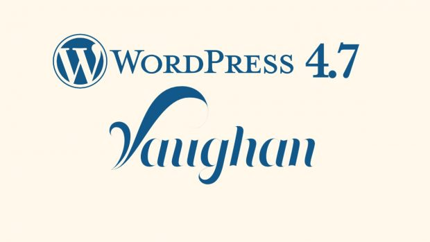 WordPress 4.7 ist da. (Grafik: VideoPress)