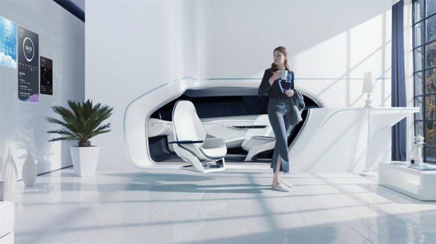 Geht es nach Hyundai, könnte das Auto in Zukunft ein Teil der Wohnung sein (Bild: Hyundai)