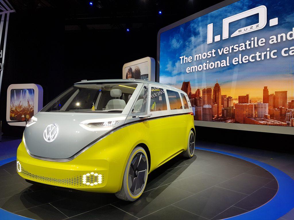 Volkswagen ID Buzz vorgestellt