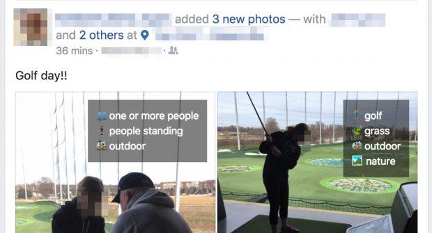 Das erkennt die KI von Facebook auf euren Fotos. (Screenshot: Adam Geitgey)